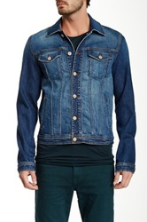 Joe's Jeans Revival Denim Jacket Black