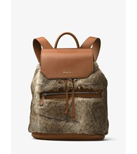 Kirk Fur And Leather Backpack