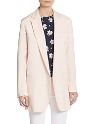 Equipment Kadley Wool Blazer Chalk Pink
