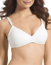Warner's No Side Effects Wirefree Contour Bra White