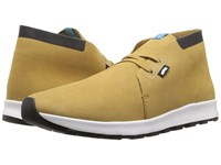 Native Apollo Chukka Hydro Tomb Brown Jiffy Black Shell White Jiffy Rubber Lace Up Casual Shoes Yellow
