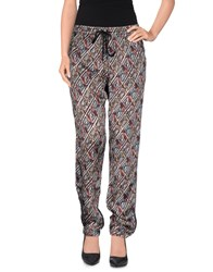 Custo Barcelona Trousers Casual Trousers Women Brick Red