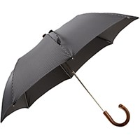 Barneys New York Men's Compact Pinstripe Folding Umbrella No Color