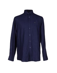 Faconnable Shirts Shirts Men Dark Blue