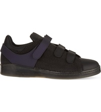 Alexander Mcqueen Velcro Strap Tennis Shoes Purple