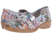 Rieker 41385 Doris 85 Ice Multi Women's Slip On Shoes
