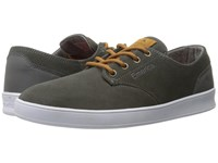 Emerica The Romero Laced Grey Brown Men's Skate Shoes Black