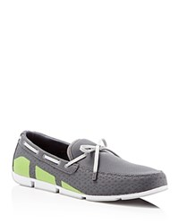 Swims Breeze Mesh Loafers Steel Green