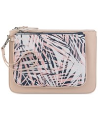 Nine West Table Pouch Large Clutch Cameo Rose