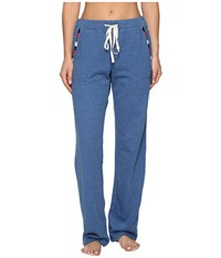 Lucky Brand Luxe Chillin Out Pants Denim Blue Women's Pajama