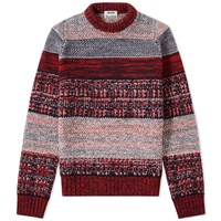 Acne Studios Kai Rustic Knit Red