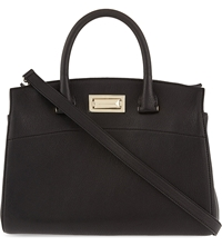 Max Mara Bag Doctor Leather Tote Black