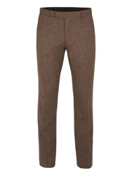 Ben Sherman Men's British Tweed Camden Trouser Antique Gold