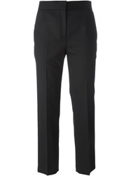 Won Hundred Cropped Trousers Black