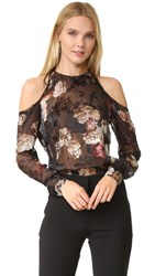 Preen Alva Top Painted Flower