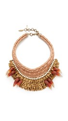 Deepa Gurnani Henrietta Statement Necklace Multi