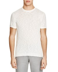 The Men's Store At Bloomingdale's Slub Knit Short Sleeve Sweater Ivory