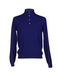 Della Ciana Turtlenecks Bright Blue