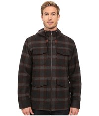 Prana Field Jacket Dark Umber Men's Coat Brown