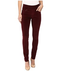 Jag Jeans Nora Pull On Skinny 18 Wale Corduroy Elderberry Women's Casual Pants Red