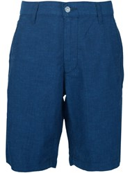 7 For All Mankind Chino Shorts Blue