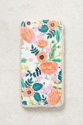 Anthropologie Rifle Paper Co. Iphone 7 Case Mint