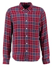 Abercrombie And Fitch Muscle Fit Shirt Redplaid