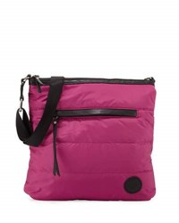 French Connection Gia Nylon Crossbody Bag Fuschia