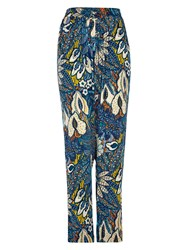 Louche Gatsby Beads Print Trousers Multi