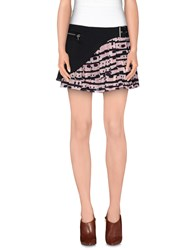 Uniqueness Skirts Mini Skirts Women Pink