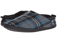 Bedroom Athletics Bale Airforce Blue Check Men's Slippers Multi