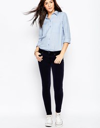 Genetic Denim Genetic Shya Skinny Jeans In Navy