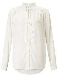 John Lewis Collection Weekend By Pussybow Blouse Ivory