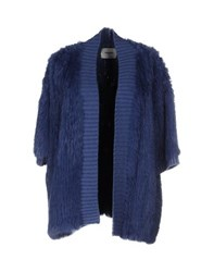 Max And Moi Knitwear Cardigans Women Pastel Blue