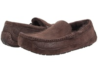 Ugg Ascot Bomber Bomber Jacket Chocolate Twinface Men's Slip On Shoes Taupe
