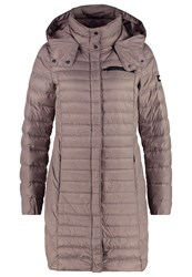 Esprit Edc By Rich Down Coat Taupe