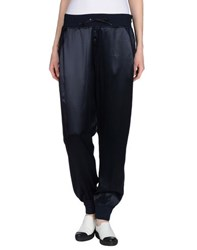Liviana Conti Trousers Casual Trousers Women Dark Blue