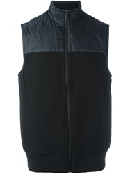 Michael Kors Zipped Gilet Black