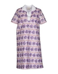 Andrea Incontri Dresses Short Dresses Women Purple