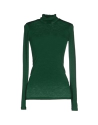 Gotha Turtlenecks Green