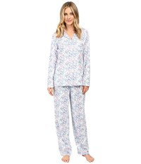 Eileen West Long Pj Set Long Sleeve Multi Floral Women's Pajama Sets