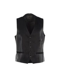 Gai Mattiolo Vests Dark Brown
