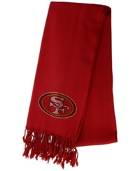 Little Earth Women's San Francisco 49Ers Pashi Fan Scarf Red