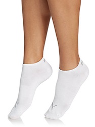 Pumalite Ankle Socks 6 Pack White