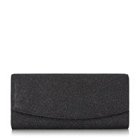 Linea Brayla Flapover Clutch Bag Navy