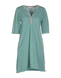 Alpha Massimo Rebecchi Dresses Short Dresses Women Green