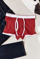 Urban Outfitters Taped Trunk Red
