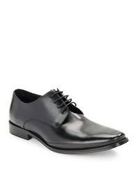 Kenneth Cole Text Me Leather Oxfords Black