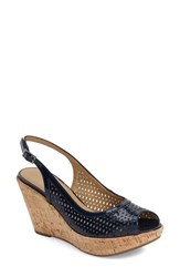 Women's Vaneli 'Emine' Perforated Slingback Sandal 3 1 4' Heel