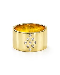 Jules Smith Designs Jules Smith Bordeaux Ring Gold Clear
